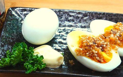ゆで卵にコレイージャン